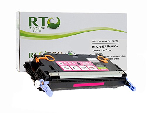 Renewable Toner 503A Compatible Toner Cartridge Replacement HP Q7583A for HP Color LaserJet 3800, CP3505 Series (Magenta) (3800 Series Color Laser Printers)