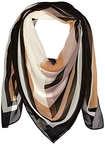 (Collection XIIX Women's Spectator Square Scarf, Neutral One Size)