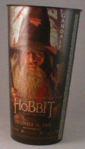 The Hobbit: An Unexpected Journey Theater Exclusive Promotional 32 Oz Plastic Cup