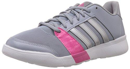 adidas Essential Star - Zapatillas de Deporte Mujer Gris / Rosa