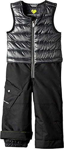 Obermeyer Kids  Baby Boy's Chilkat Bib (Toddler/Little Kids/Big Kids) Ebony 3T (Pant Insulated Vapor)