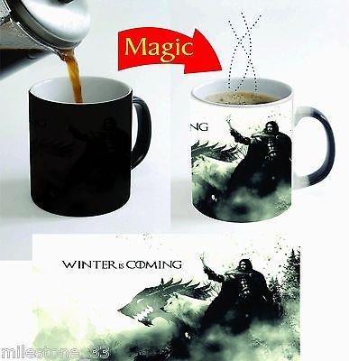 Game of Thrones New Magic Color Change Tea Coffee Mug 11 Oz.