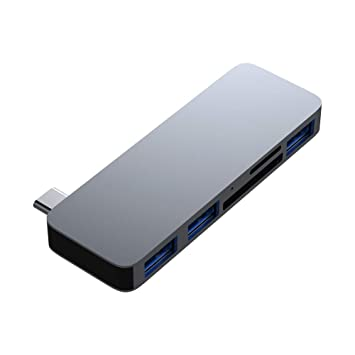 Onetek - Adaptador USB 3.0 Tipo C con Lector de Tarjetas SD ...