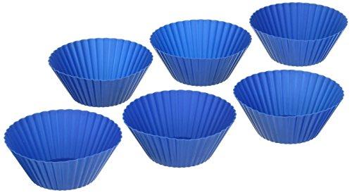 Le Creuset Silicone 6-Piece Baking Cups, Marseille by Le Creuset