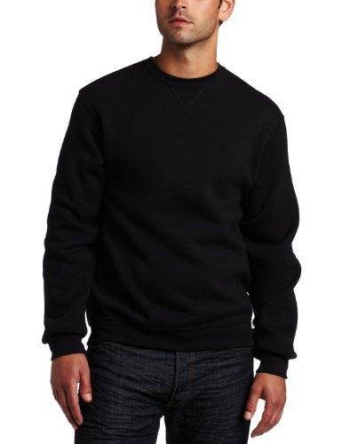 Russell Athletic Men's Dri-Power Fleece Crew - Black - 4XL