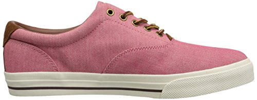 Polo Ralph Mens Lauren Vaughn Spets-up Sneaker Redwood