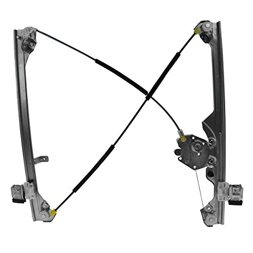 - Manual Window Regulator Front LH Left Driver Side for GMC Chevy Pickup Truck
