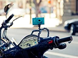 JOBY Gorillapod Flexible Tripod (Black/Charcoal) and  Bonus Universal Smartphone Tripod Mount Adapter