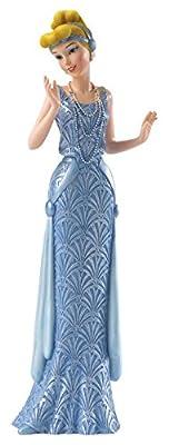 Enesco Disney Showcase Couture De Force Cinderella Art Deco Stone Resin Figurine