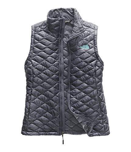 The North Face Women's Thermoball¿ Vest Grisaille Grey/Mint Blue Large ()