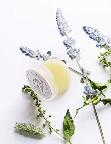 (Orange Blossom Solid Perfume SAMPLE Ginger Vanilla Tonka Bean Natural Perfume)
