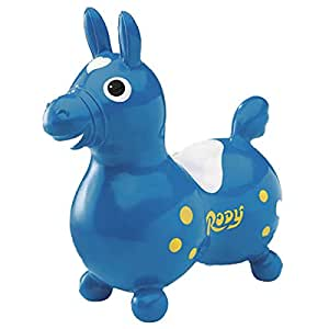 Gymnic / Rody Inflatable Hopping Horse, Blue