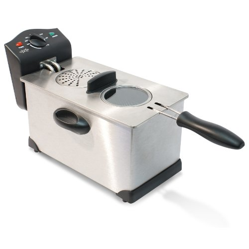 CuiZen CDF-1035 Deep Fryer with Temperature Control, 3.5-Qua
