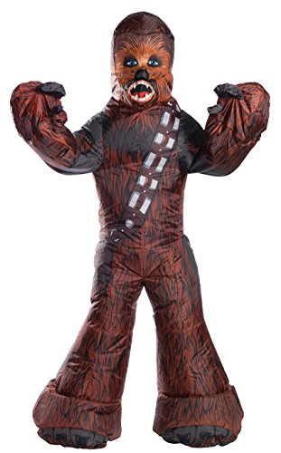 Best Chewbacca Costume (Rubie's Star Wars Adult Chewbacca Inflatable Costume, One Size)