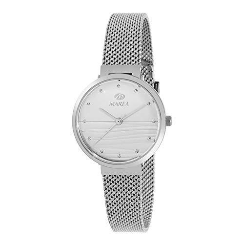 Reloj de Acero Marea Analógico Mujer B54163/1 con Malla Milanesa y ...