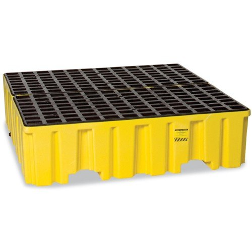 EAGLE Polyethylene Containment Pallets - Yellow by Eagle Products