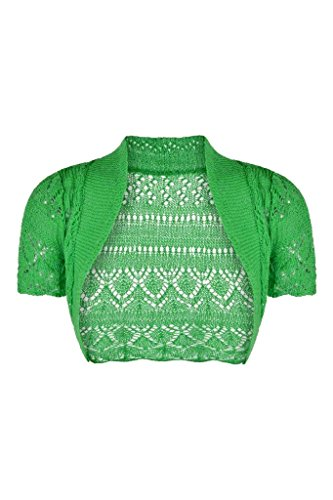Forever Sleeves Knitted Crochet Cardigan