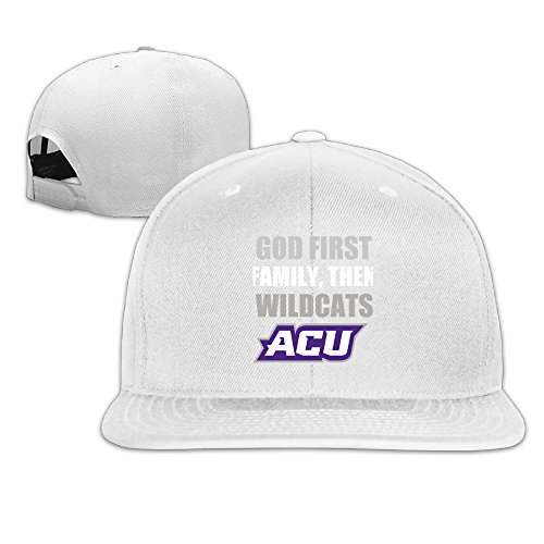SAXON13 For Men Women Hip Hop Baseball-Caps Mesh Back ACU Wildcats God First Hat Caps - Burberry Hat Baseball