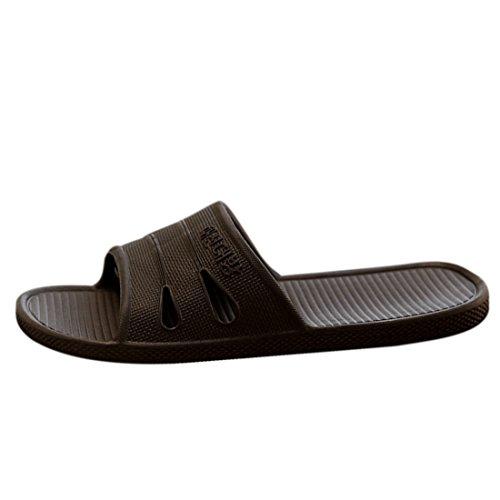 Jiyaru Unisex Indoor Vloer Slippers Zwart