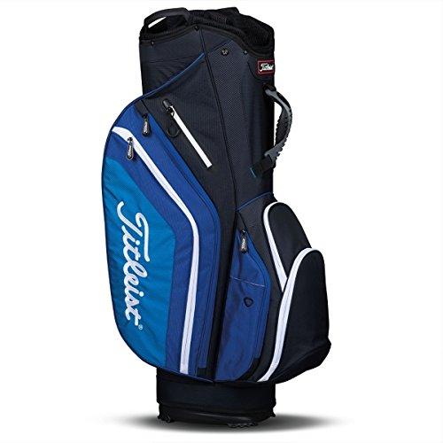 New Titleist Lightweight Cart Bag Black / Blue / White - Titleist 14 Way Cart Bag
