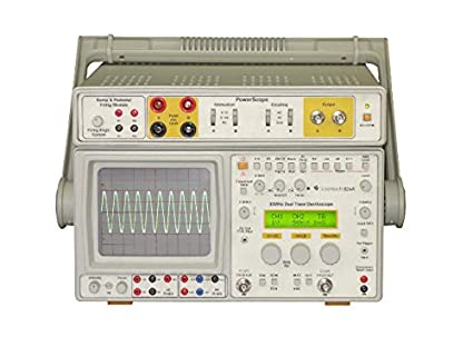 Scientech 824A 30 MHz Oscilloscope / PowerScope with Ramp