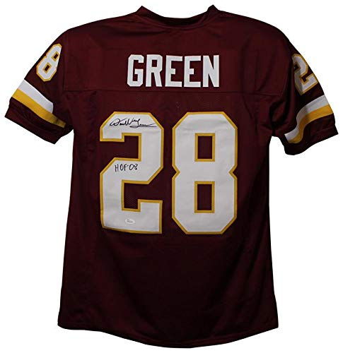 sneakers for cheap cf641 f5d47 Darrell Green Signed Jersey - XL Red HOF 23817 - JSA ...