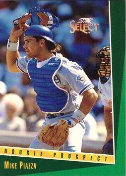 Amazoncom 1993 Score Select 347 Mike Piazza Baseball Card