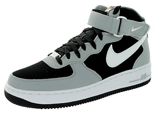 Jordan Nike Enfants Air 5 Rétro Prem Basse Gg Basket Chaussure Noir / Blanc / Loup Gris / Cl Gris