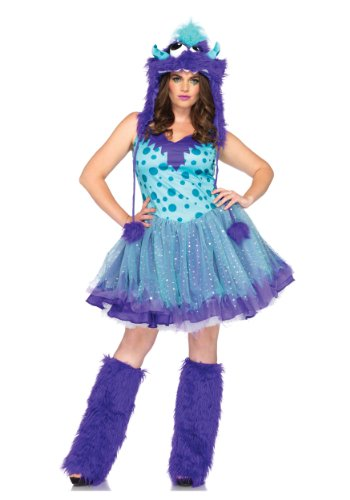 Polka Dotty Adult Costumes (Polka Dotty Costume - Plus Size 1X/2X - Dress Size 16-20)