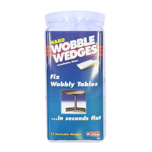 Discount Krowne 29-160 - Wobble Wedges, Hard Clear, 75-Pack for cheap