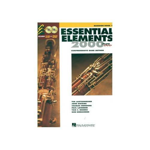 Music 1 Bassoon Book (Hal Leonard Essential Elements Bassoon (Book 1 with EEi))