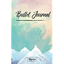"""Bullet Journal: 2017 Journal Notebook,Dot grid journal, 122 pages 5.5""""x8.5"""" 
