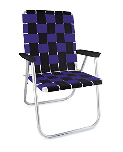 Lawn Chair USA Tailgating Chairs (Black//Purple) ()