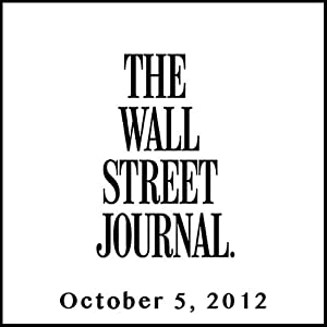 The Morning Read from The Wall Street Journal, October 05, 2012 Newspaper / Magazine