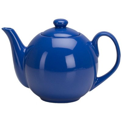 Teaz 1.06-qt. Lillkin Teapot with Infuser Color: Simply Blue