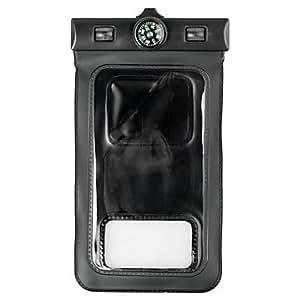 HC-IPX8 Profesional de protección bolsa impermeable con brazalete y Compass para Samsung Galaxy S5