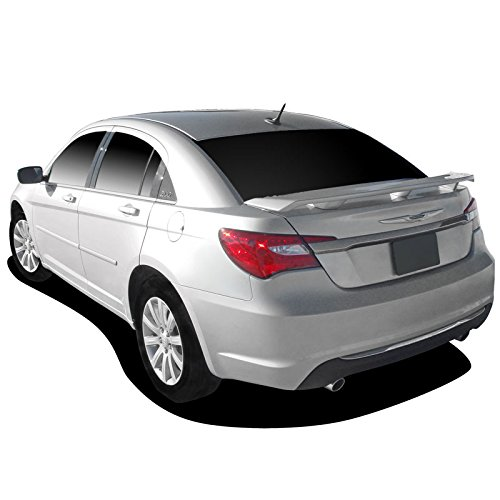 Dawn Enterprises Avenger Custom Style Pedestal Spoiler Compatible with Chrysler 200, Dodge Avenger - Black (X8)