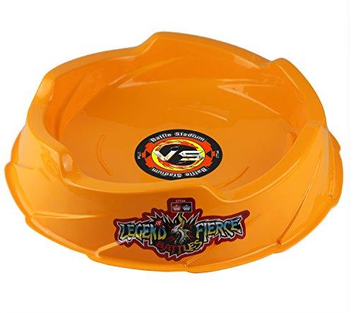 - Beystadium Battle Arena Training Ground Super Vortex Attack Type for Beyblade Brust ( Orange )