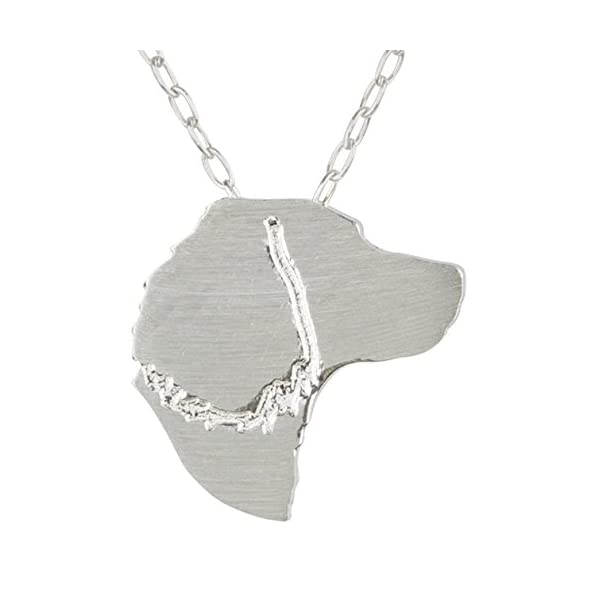 SilhouPETte English Springer Spaniel Jewelry, Necklace with Pendant 1
