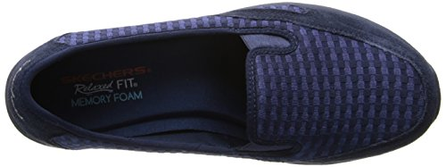Skechers Womens Relaxed Living-trooster Mule Navy
