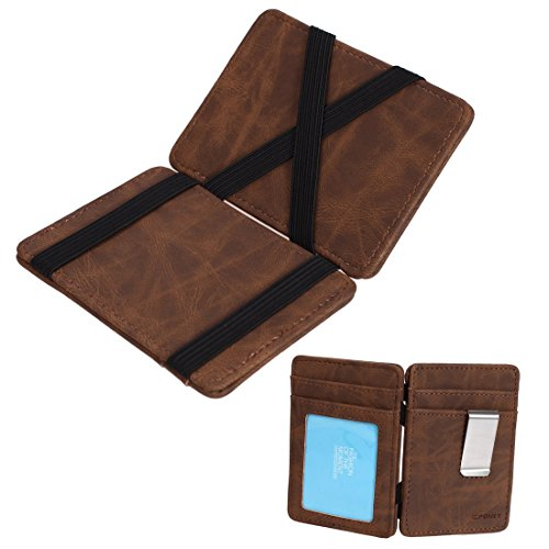quilt leather wallet - 6
