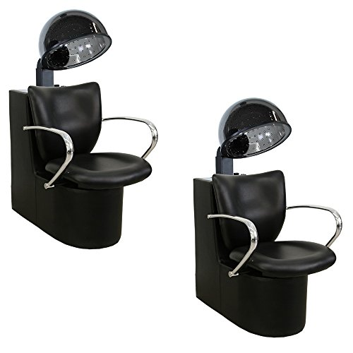 Salon Package x 2 Liberty Box Dryers with Chairs DC-90 & HD-64983