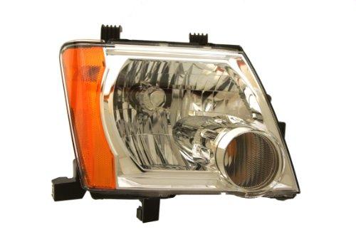 (Genuine Nissan Parts 26010-EA025 Passenger Side Headlight Assembly Composite)