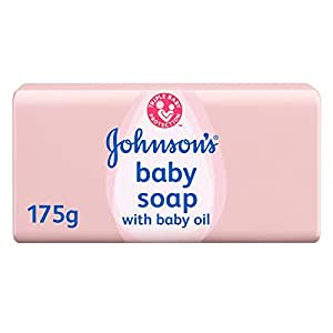 JOHNSON'S Baby, Baby Soap with Baby Oil, 175g