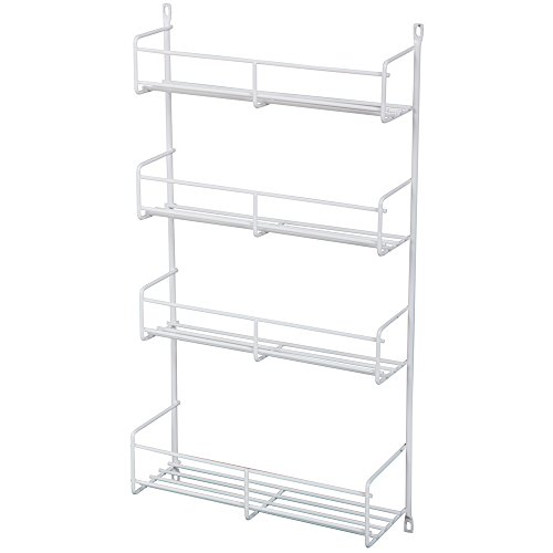 cabinet mount spice rack - 8
