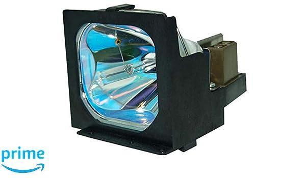 Supermait - Lámpara de repuesto para proyector con carcasa LV-LP05 ...