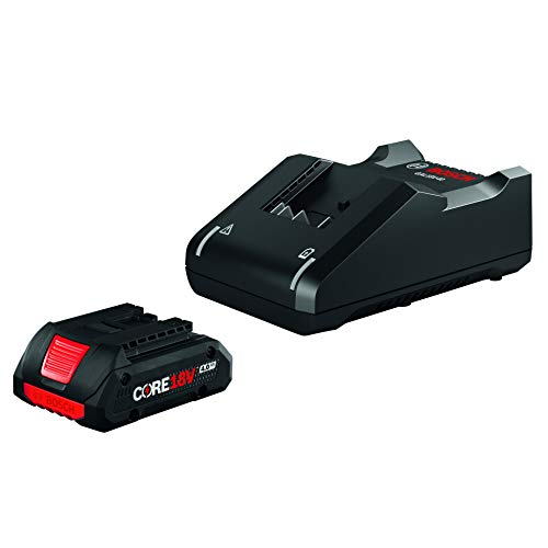 Bosch GXS18V-15N15 18V Starter Kit with (1) CORE18V 4.0 Ah Compact Battery (Bosch Radio With Battery)