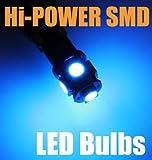 T10 906 912 Dome Light Hi-Power LED Bulbs 5-SMD/Blue