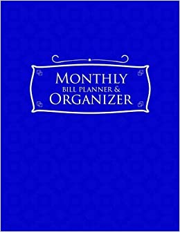buy monthly bill planner organizer bill payment book life budget
