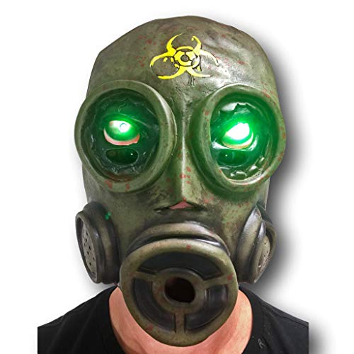 Rubber Johnnies Purge Gas Mask, First Anarchy, Election, Halloween Costume -